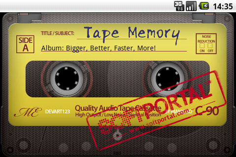 Tape Memory Cassette Music Player 1.1 для Android