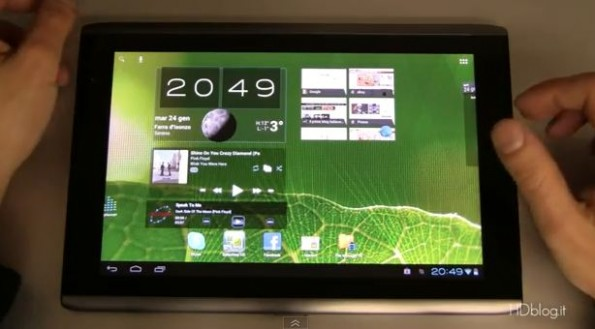 Android 4.0 ICS на Acer Iconia Tab A500